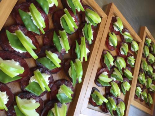 Bouchées Fraîcheur au chorizo