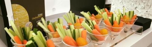 Cristalines Dips légumes